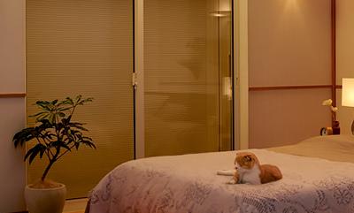 シャッター 寝室 防音