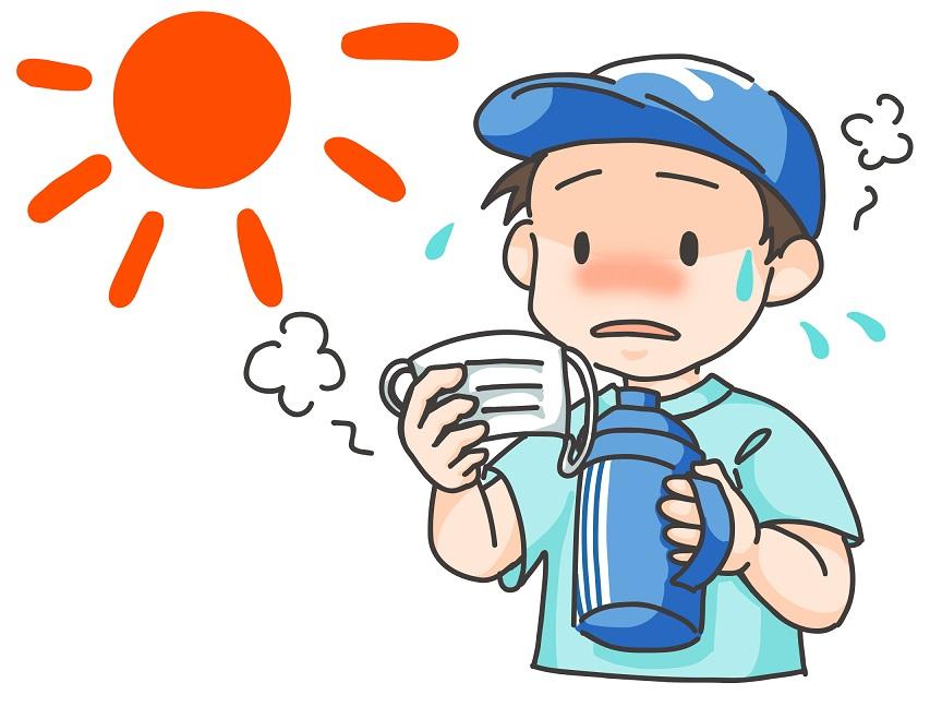 夏 暑い 熱中症対策