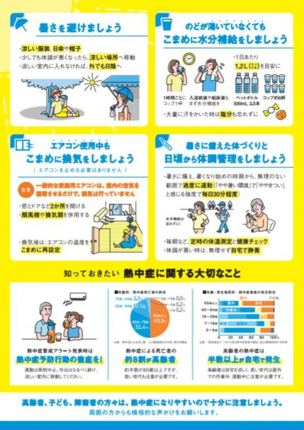 熱中症対策 厚生労働省