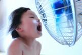 扇風機 子供 涼しい 省エネ エコ