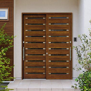 玄関ドア 引き戸
